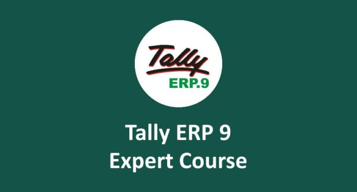 tally erp 9 online course