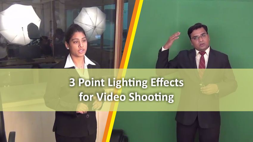 Lighting Setup for Creating Video