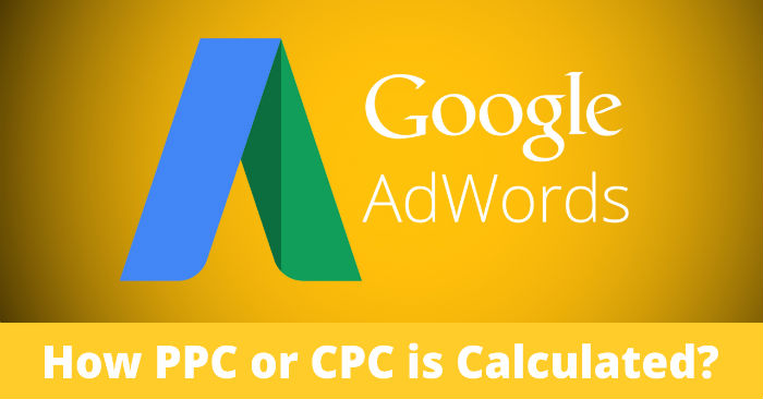 Google AdWords PPC Cost Calculation