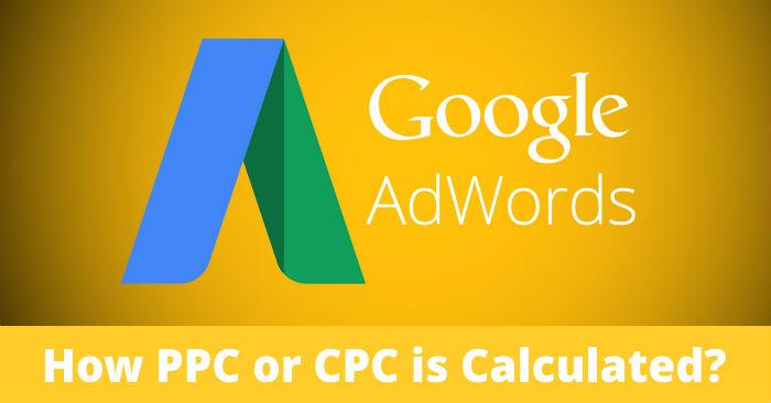 Google AdWords PPC Cost Calculation